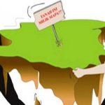 Ilustrasi Penyerobotan Lahan Masyarakat (Sumber : Net)
