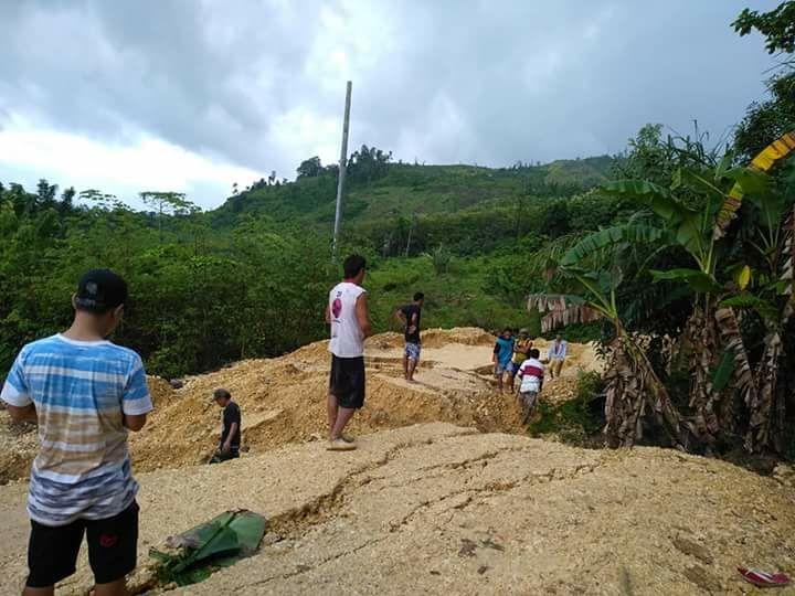 Salah satu titik terparah yang ada Di Desa Wantulasi