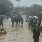 Banjir di Desa Guali Muna Barat, 20 Rumah Terendam
