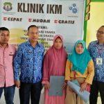 Klinik IKM Disperindag Kabupaten Bombana