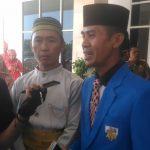 Ketua KNPI Kab. Bombana didampingi Sekretaris