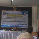 Suassana seminar awal terkait Rencana Penelitian Sejarah Bombana