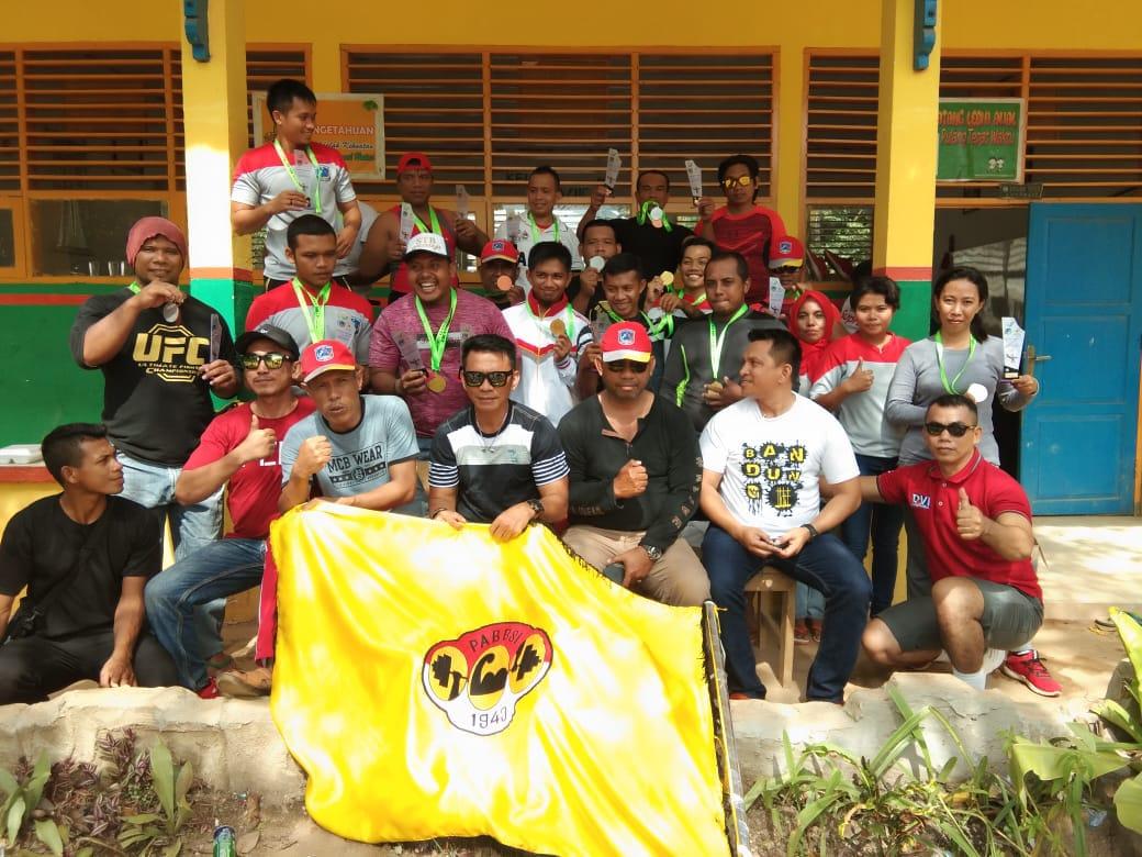Para Atlit Angkat Besi/berat Muna yang berlaga di Pekan Olahraga Provinsi (Porprov) XIII di Kolaka