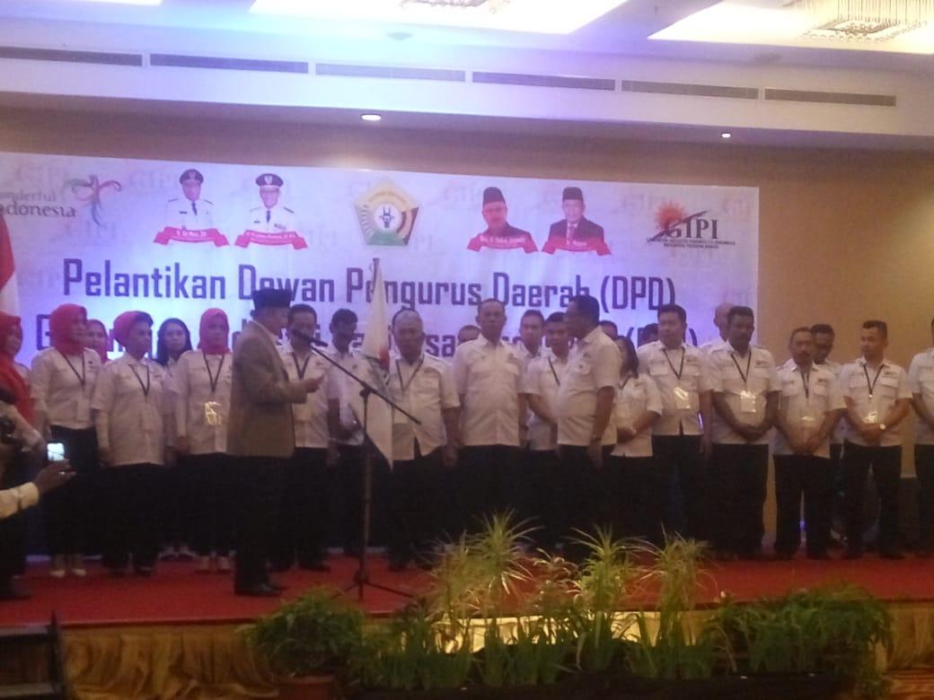 Pelantikan DPD GIPI Sultra oleh Ketua DPP GIPI
