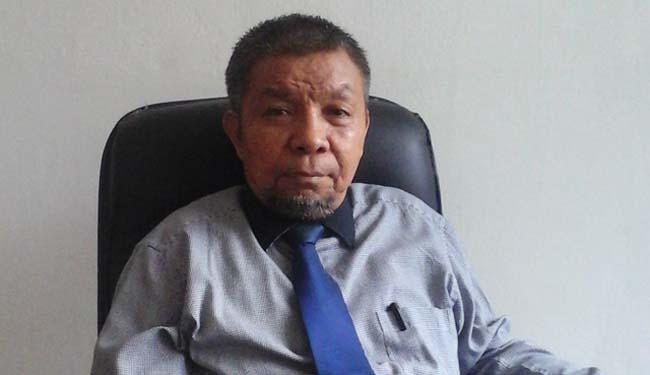 Rektor Universitas Sulawesi Tenggara (Unsultra) Prof. Dr. Andi Bahrun, M.Sc