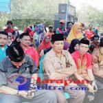 Ketua DPD KNPI Kab. Bombana, ARDIAN saat menghadiri upacara adatTanduale di Desa Lakito, Kolaka