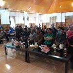 Peserta Sosialisi DPM dan PTSP Wakatobi