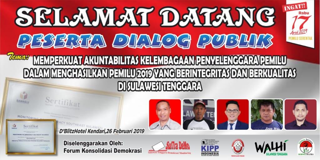 Dialog publik kepemiluan