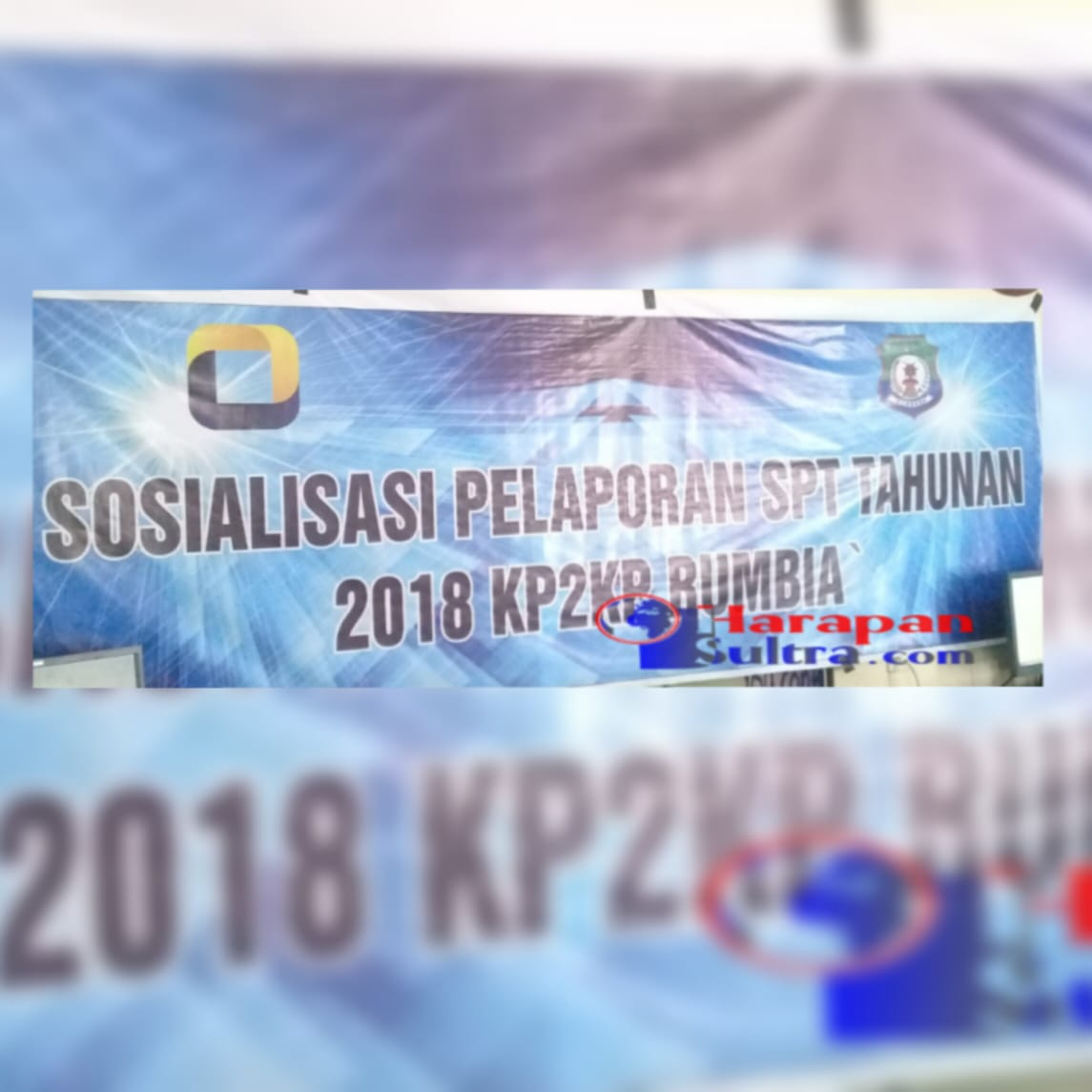 Sosialisasi Pelaporan SPT Tahunan Pajak KP2KP Rumbia