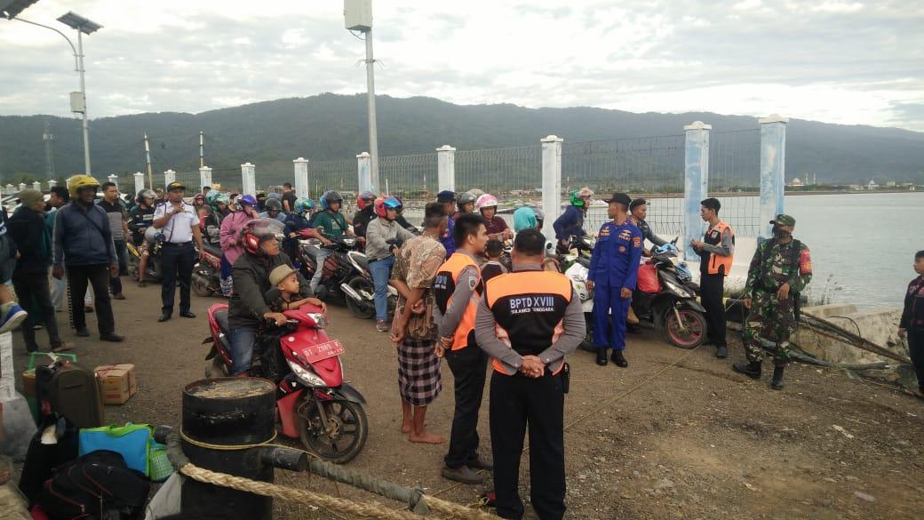 Foto: HS/BPTD Provinsi Sultra saat melakukan Pengawasan Arus Mudik/Hir