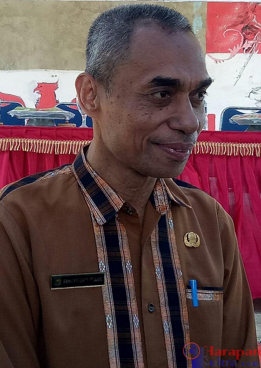 Konstatinus Bukide, SH, M, Si, Kepala Dinas Sosial Kabupaten Buton Selatan