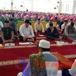 Jamaah yang hadir saat Dzikir Akbar menyambut Tahun Baru Islam 1441 H