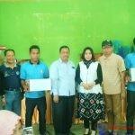 Foto Penyerahan Bantuan KUBE Karang Taruna