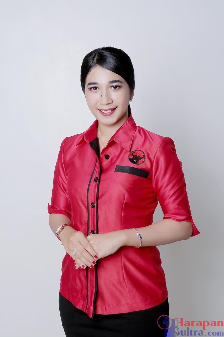 Karlina, SM anggota DPRD Dapil 1 Kec. Kadatua dan Batauga