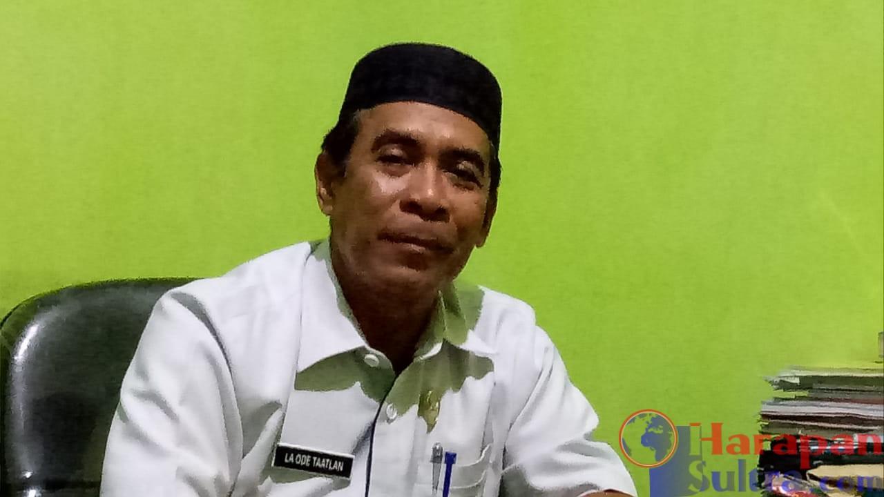 Kepala Dinas Kelautan dan Perikanan Kabupaten Buton Selatan, Laode Taatlan