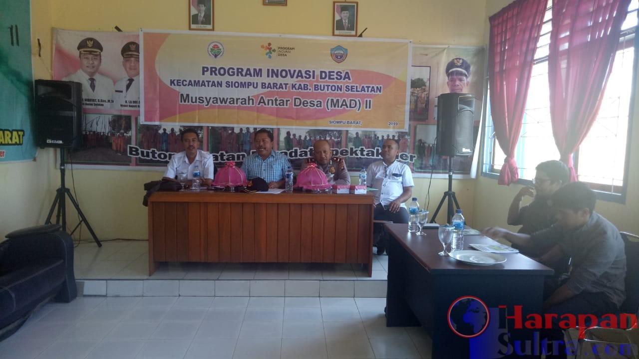 Suana Rapat Koordinasi Program pembangunan dan Pemberdayaan Masyarakat Desa (P3MD