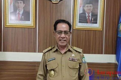 Mantan Sekretaris Daerah (Sekda) Bombana, H. Burhanuddin A. HS. Noy, SE., M.Si