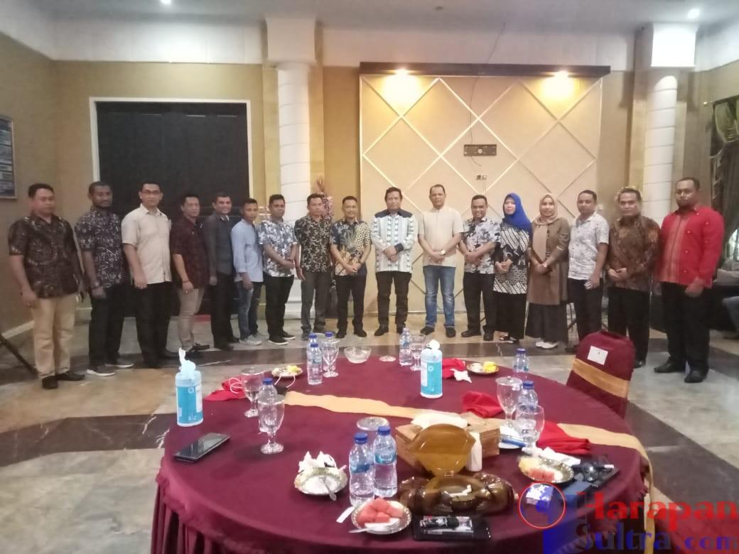 Bupati LM Rusman Emba ST bersama Bupati Bantaeng dan seluruh jajaran OPD