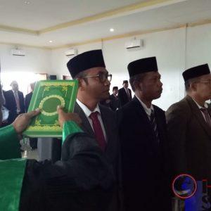 Bupati Buton Selatan mengambil sumpah Jabatan terhadap 10 Pejabat Pimpinan Tinggi Pratama pada lingkup Pemerintah Kabupaten Buton Selatan