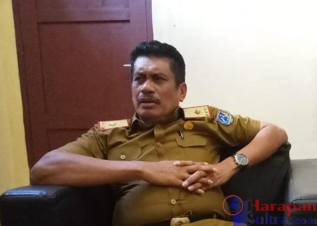 Ketgam : Kepala BKPSDM Muna, Sukarman Loke