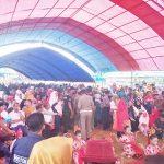 Bupati Muna LM.Rusman Emba saat menghadiri kunjungan kerja di Kecamatan Kabawo
