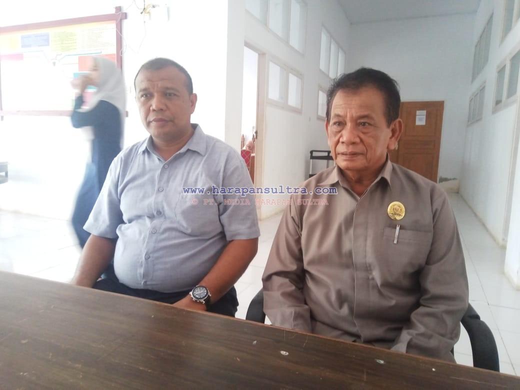Ketgam: Ketua DPRD Muna La Saemuna (Dapil 2) dari partai Hunura dan Awal Jaya Bolombo anggota DPRD Muna dari (Dapil 4) partai Demokrat.