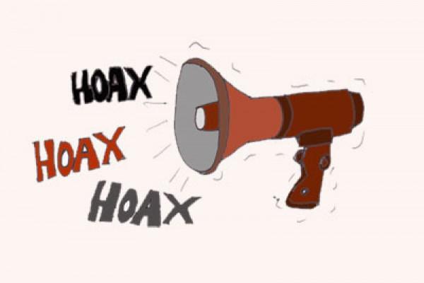 ilustrasi hoax