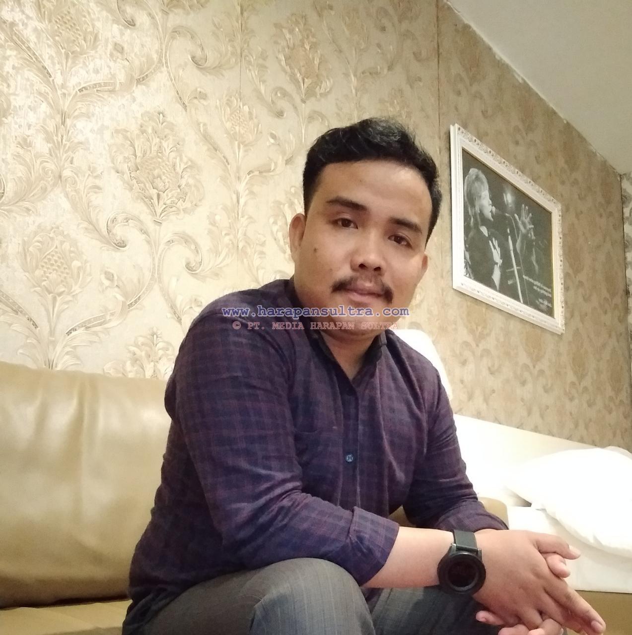 Sekretaris Umum DPD GPII Konsel, Mansyarudin, SH