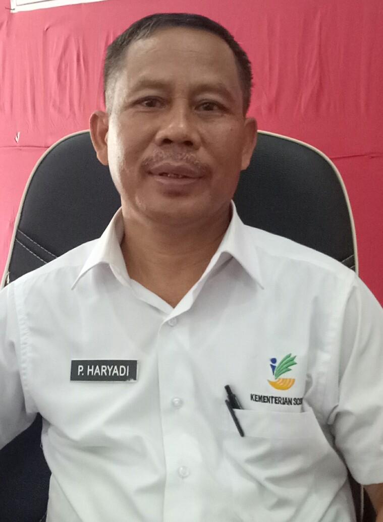 P Haryadi , Tenaga Teknis di Bidang Pemberdayaan dan Penanganan Kemisinan