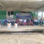 Bupati Busel saat berkunjung ke Desa Desa dalam Pencairan BLT DD Tahap 2