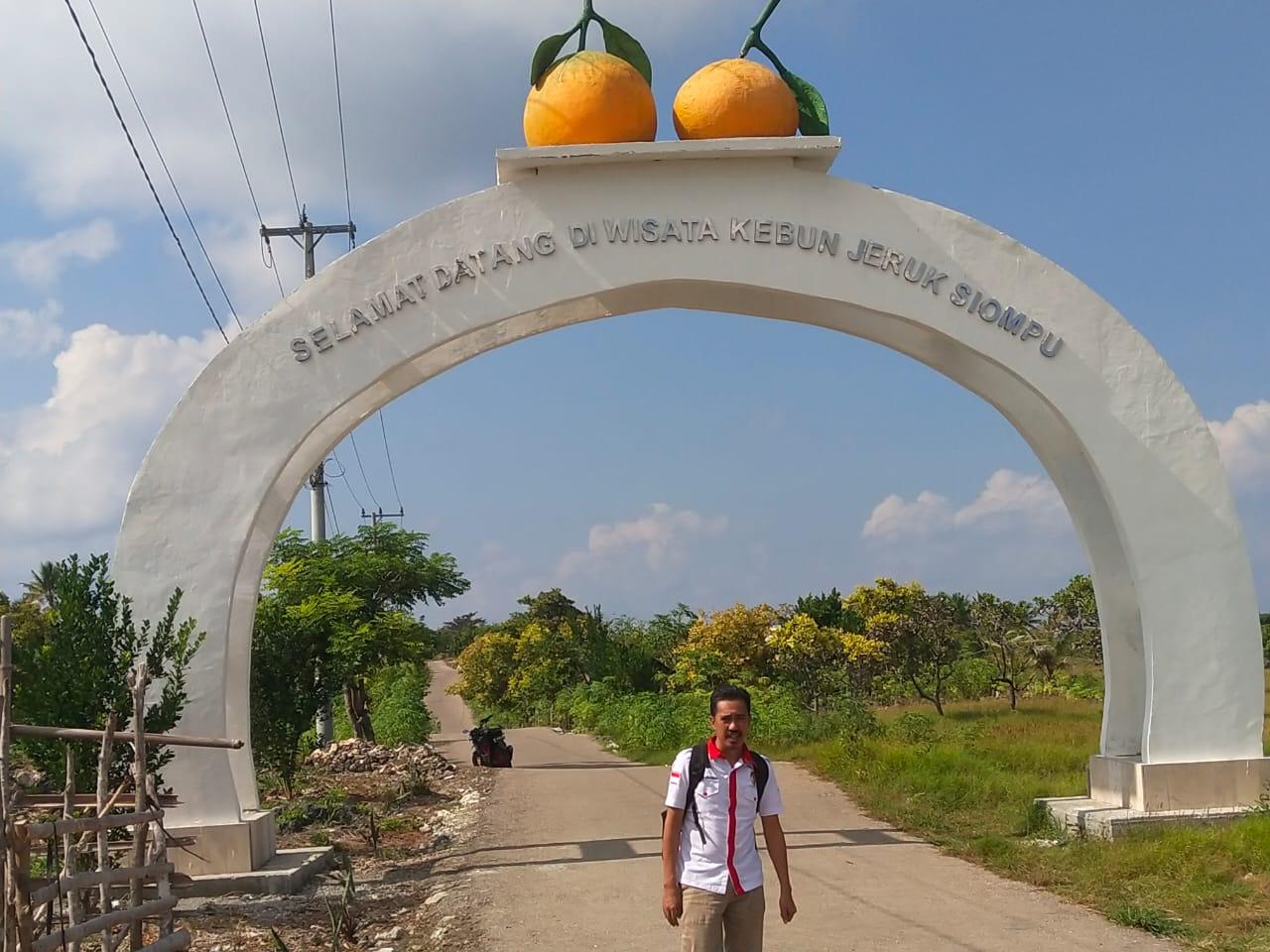 Gerbang Wisata Kebun Jeruk Siompu