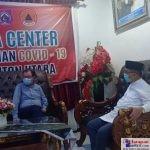 Bupati Butur, Abu Hasan saat berdiskusi dengan perwakilan Nuts 2