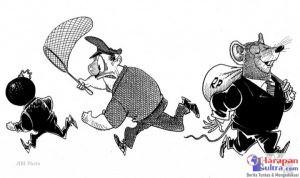 Ilustrasi Korupsi (Sumber : Internet)