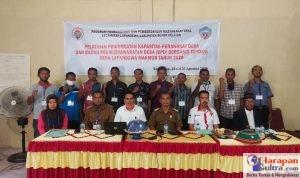Suasana Pelatihan Peningkatan Kapasitas Aparat dan BPD di Desa Lapandewa Makmur