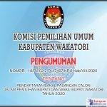 Pengumuman KPU Wakatobi