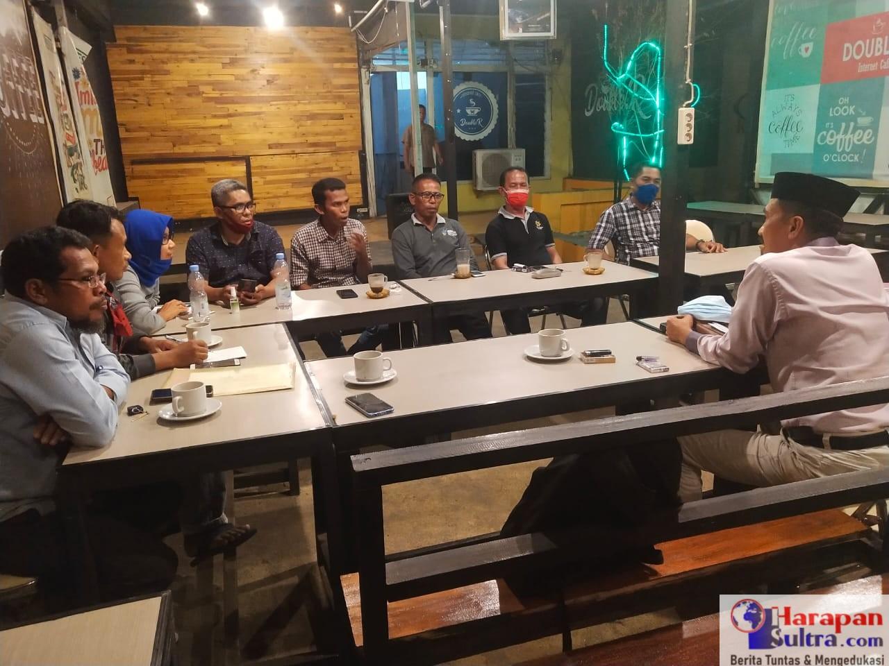 Pemerintah Kecamatan Batuatas saat menggelar Rapat Koordinasi dalam rangka Pembahasan tahapan Penyusunan Rencana Kerja pembangunan Desa (RKP DEsa) Tahun Anggaran 2021.