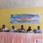 Suasana Musyawarah Desa Burangasi