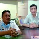 Iskandar, Wakil Ketua DPRD Bombana (Kanan) dan Darwin Ismail, Kepala Badan Keuangan Daerah Bombana (Kiri)