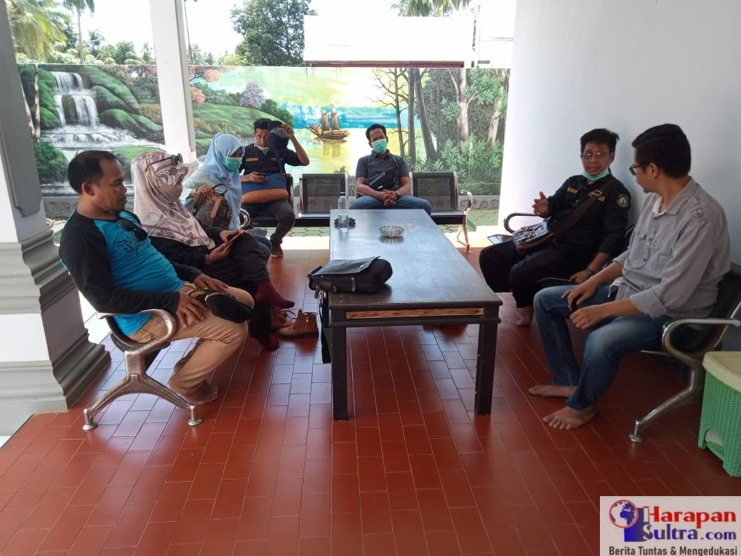 Foto : Monev di Kantor PT. Trias Jaya Agung