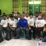 Ketua KNPI Bombana, Nasaruddin (Tengah) bersama Pengurus DPK KNPI Kecamatan dan Para Pimpinan OKP