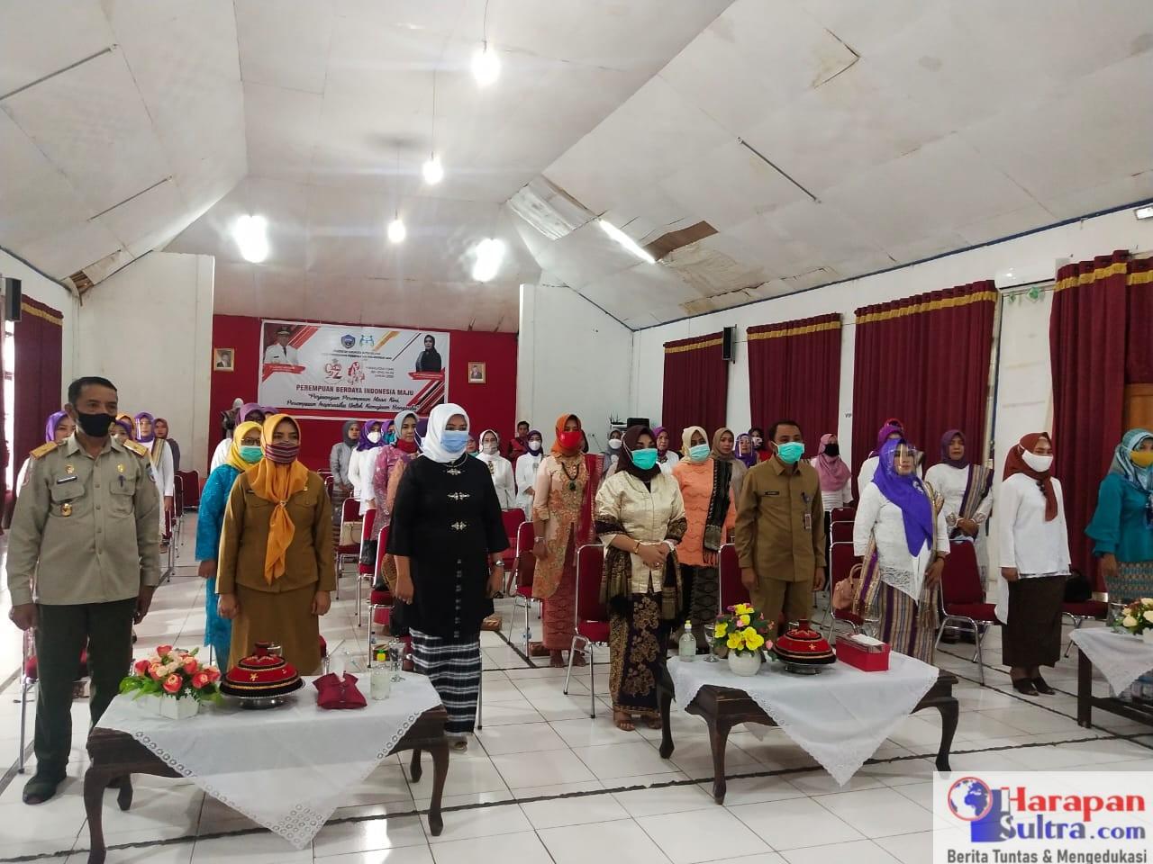 Suasana Peringatan Hari Ibu, Kabupaten Buton Selatan