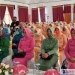 Suasana Peserta Peringatan HUT DWP ke 21, Kabupaten Buton Selatan