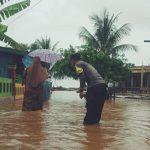 Banjir di Pulau Kabaena rendam ratusan rumah warga (Foto : Istimewa)