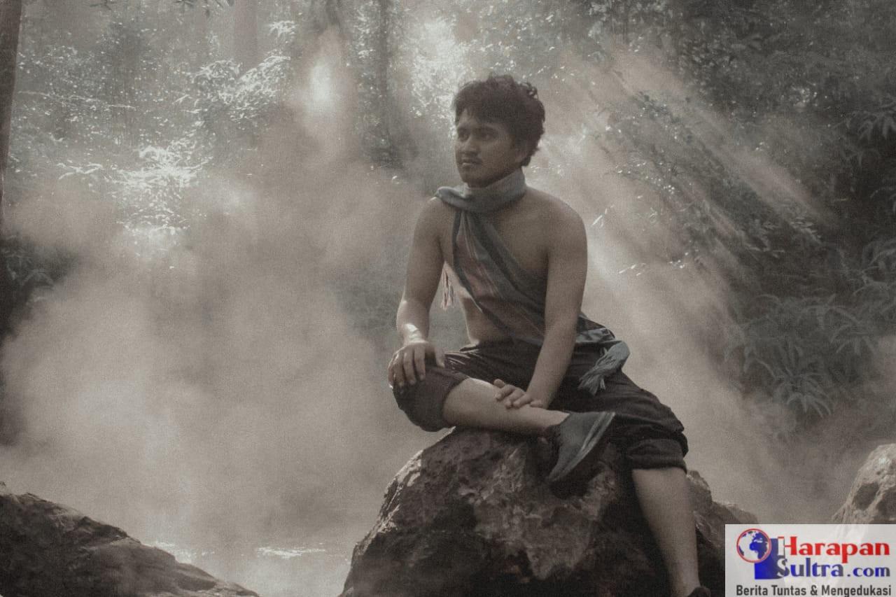 Awal Kurniawan, saat berfoto di salah satu spot Wisata Wungkolo Raya