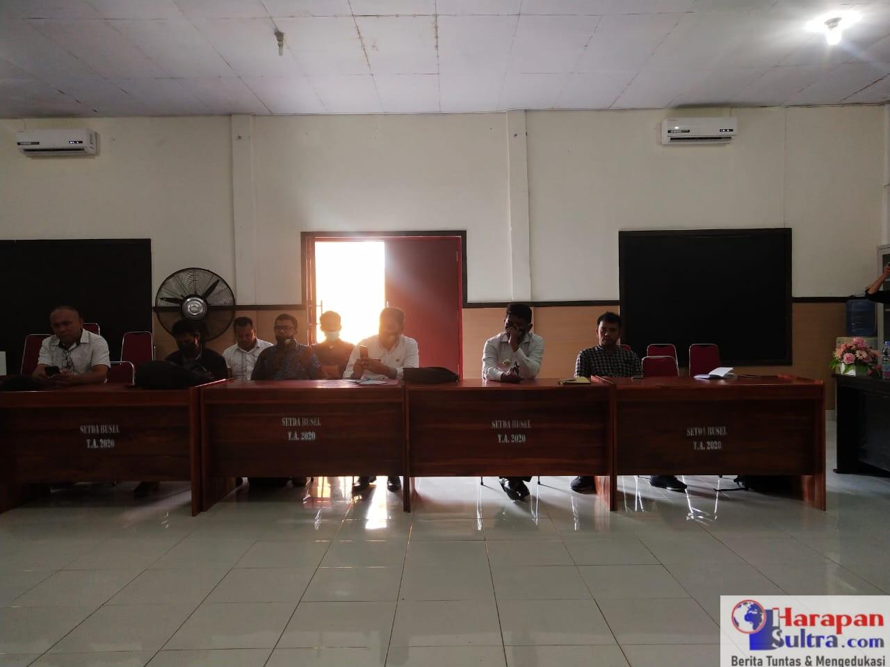 Suasana Rapat Bersama DPMD Busel, Para Camat dan Tenaga Pendamping Profesional (TPP)