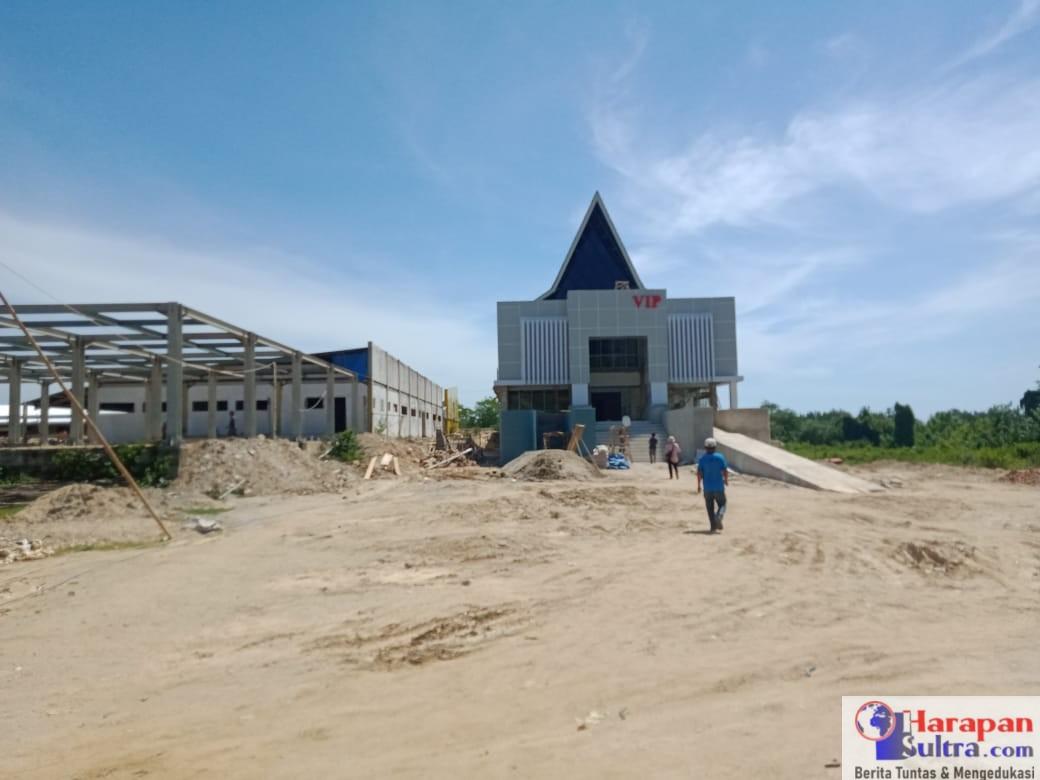 Proyek Pembangunan Gedung Rawat Inap VIV Rumah Sakit Umum Daerah (RSUD) Kabupaten Bombana