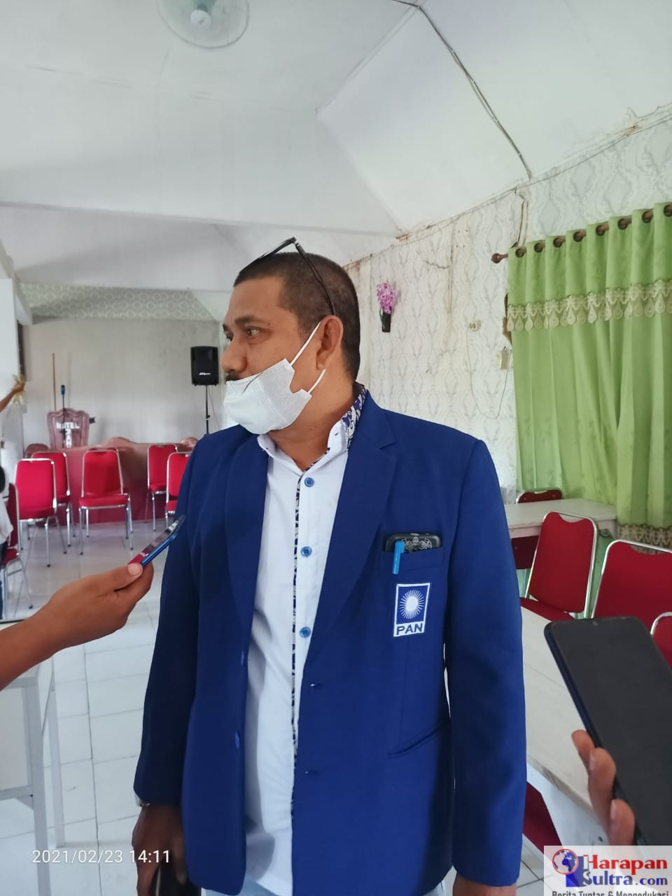 Abdul Rauf, Ketua Panitia Musda V PAN Bombana
