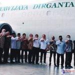 Tasyakuran untuk penerbangan perdana pesawat cargo Jayawijaya Dirgantara