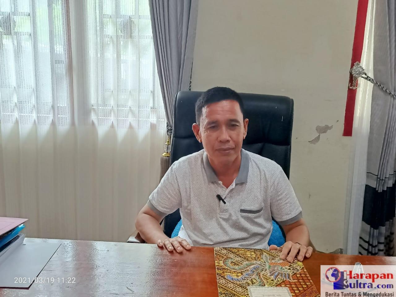 Kepala Dinas Ketahanan Pangan Kabupaten Bombana, Muslihin, S.P