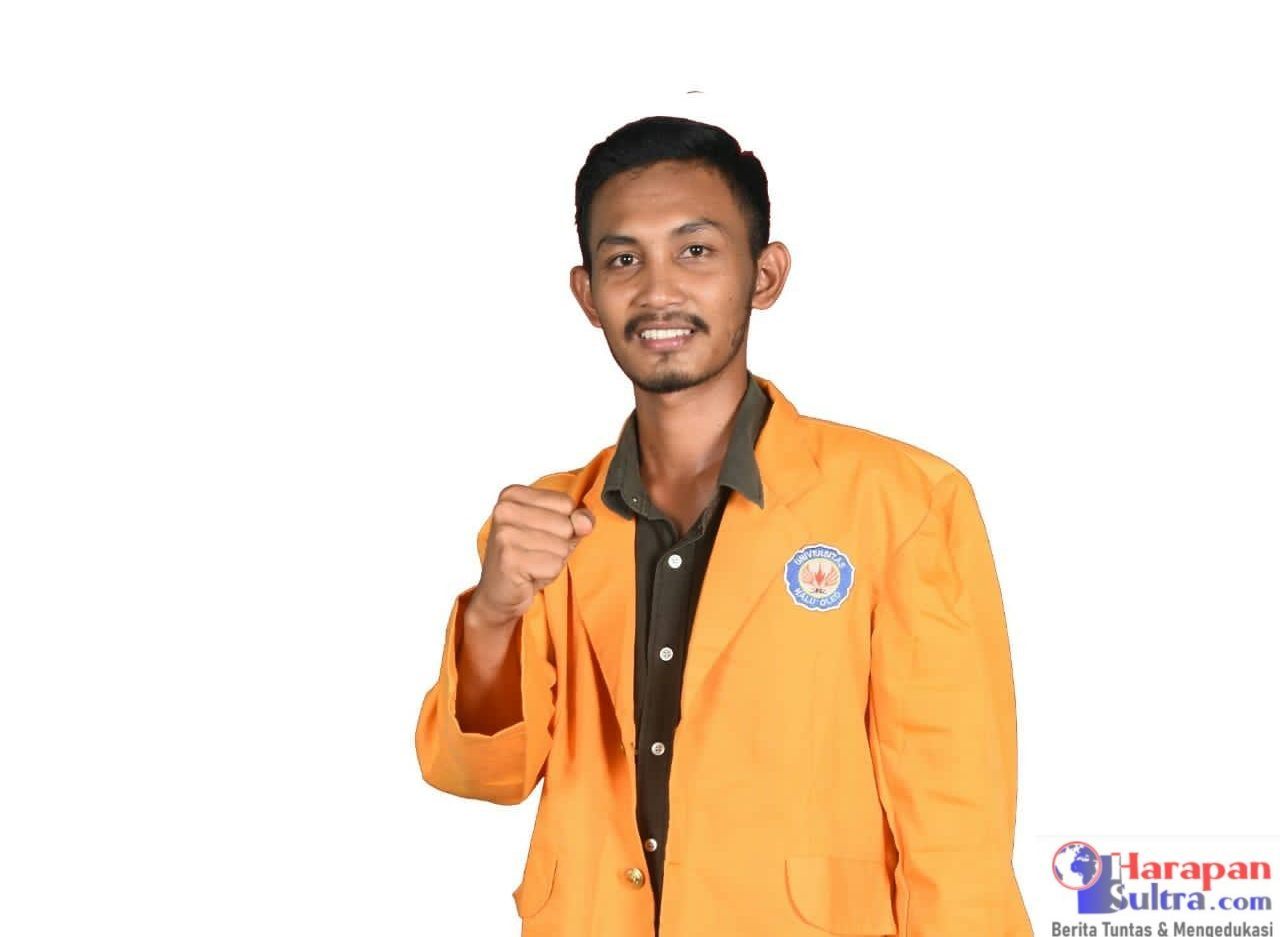 Ketua BEM FITK UHO, Irfan Tato.